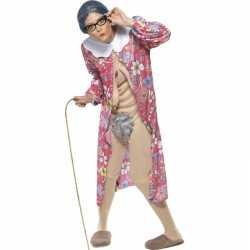 Bejaarde vrouw outfit
