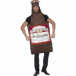Bierfles verkleed outfit