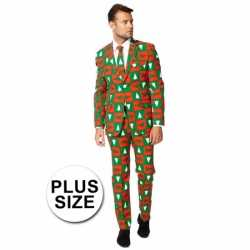 Big sized compleet outfit in kerst stijl