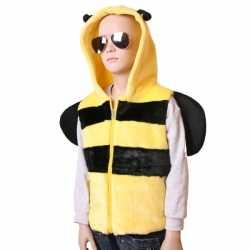 Bijen vestjecapuchon carnaval kinderen