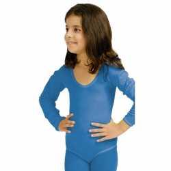 Blauwe kinder ballet outfit