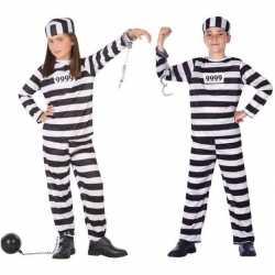 Boef/boeven verkleed pak/outfit carnaval kinderen