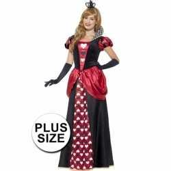 Carnaval dames rode koningin outfit