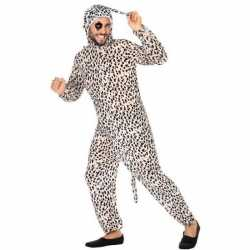 Carnaval dieren outfit dalmatier hond carnaval volwassenen