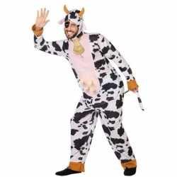 Carnaval dieren outfit koe carnaval volwassenen
