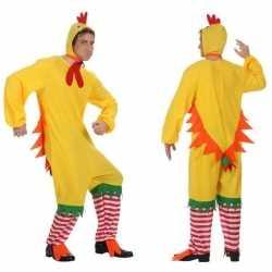 Carnaval/feest haan/kip/kuiken verkleed outfit carnaval heren