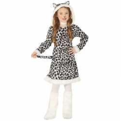 Carnaval/feest luipaard verkleed outfit carnaval meisjes