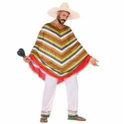 Carnaval/feest mexico verkleedoutfit carnaval volwassenen