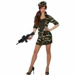Carnaval/feest soldaat/militair verkleed outfit carnaval dames