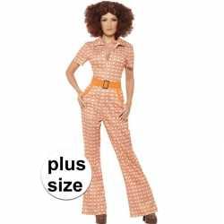 Carnaval oranje jaren 70 outfit carnaval dames