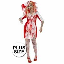 Carnaval zombie zuster outfit