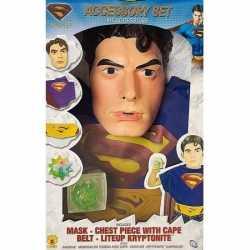 Carnavaloutfit superman carnaval kinderen