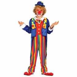 Carnavalskleding clown outfit carnaval kinderen