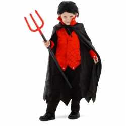 Carnavalskleding dracula/vampier verkleedoutfit carnaval jongens/meis
