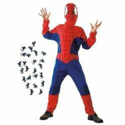 Carnavalskleding spinnenheld outfitspinnetjes maat l carnaval kindere