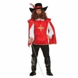 Carnavalsoutfit musketier