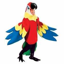 Carnavalsoutfit papegaai