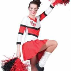 Cheerleader outfit carnaval dames