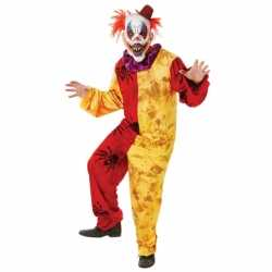 Clown it outfit carnaval volwassenen