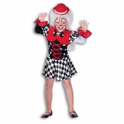 Clown outfit carnaval meisjes