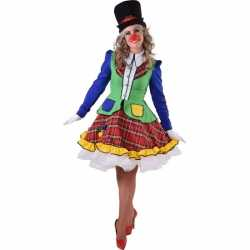 Clown pipo outfit carnaval dames