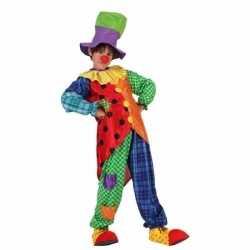 Clowns verkleedoutfit stitches carnaval kinderen