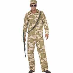 Commando verkleed outfit carnaval heren
