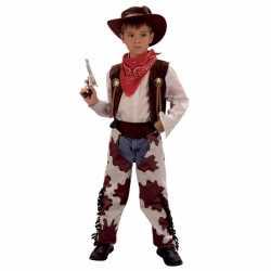 Cowboy carnavalsoutfit carnaval kinderen