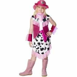Cowgirl jurkje carnaval meiden