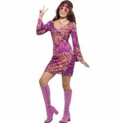 Dames hippies outfit jaren 60