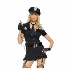 Dames outfit set sexy politie