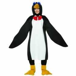 Dieren outfit pinguin volwassenen