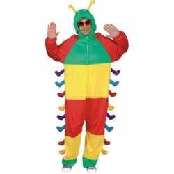 Dieren outfit rups carnaval volwassenen