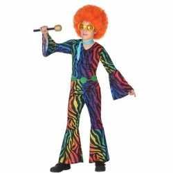 Disco 70s verkleedoutfit carnaval meisjes