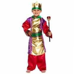 Drie koningen kerst outfit verkleedkleding carnaval jongens