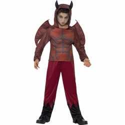 Duivel outfit carnaval kinderen