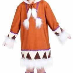 Eskimo outfitlaarshoezen carnaval meisjes