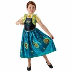 Feest outfit Anna Frozen carnaval meisjes