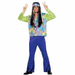 Flower power outfit carnaval heren
