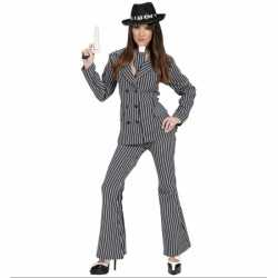 Gangster outfit carnaval dames