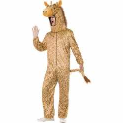 Giraffe outfit carnaval volwassenen