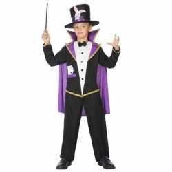 Goochelaar verkleed pak/outfit carnaval kinderen