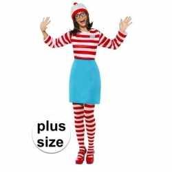 Grote maat waar is wally outfit carnaval dames