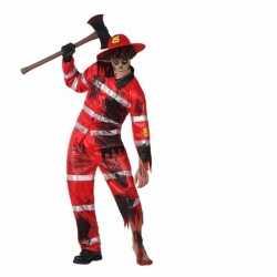 Halloween brandweer zombie outfit