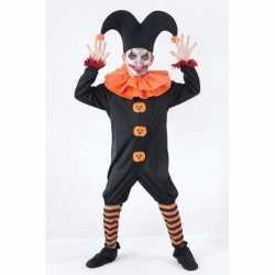 Halloween harlekijn outfit carnaval kinderen