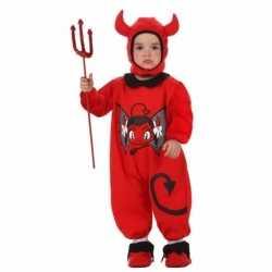 Halloween outfit carnaval kinderen duiveltje
