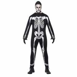 Halloween skelet outfit carnaval volwassenen