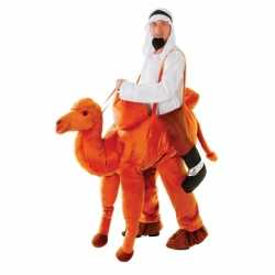 Hang outfit kameel carnaval volwassenen