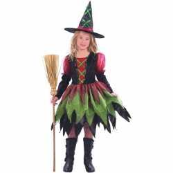 Heksen outfit carnaval meisjes