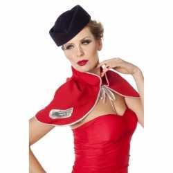Hoedje carnaval bij een stewardes outfit